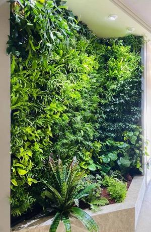 壁面緑化事業