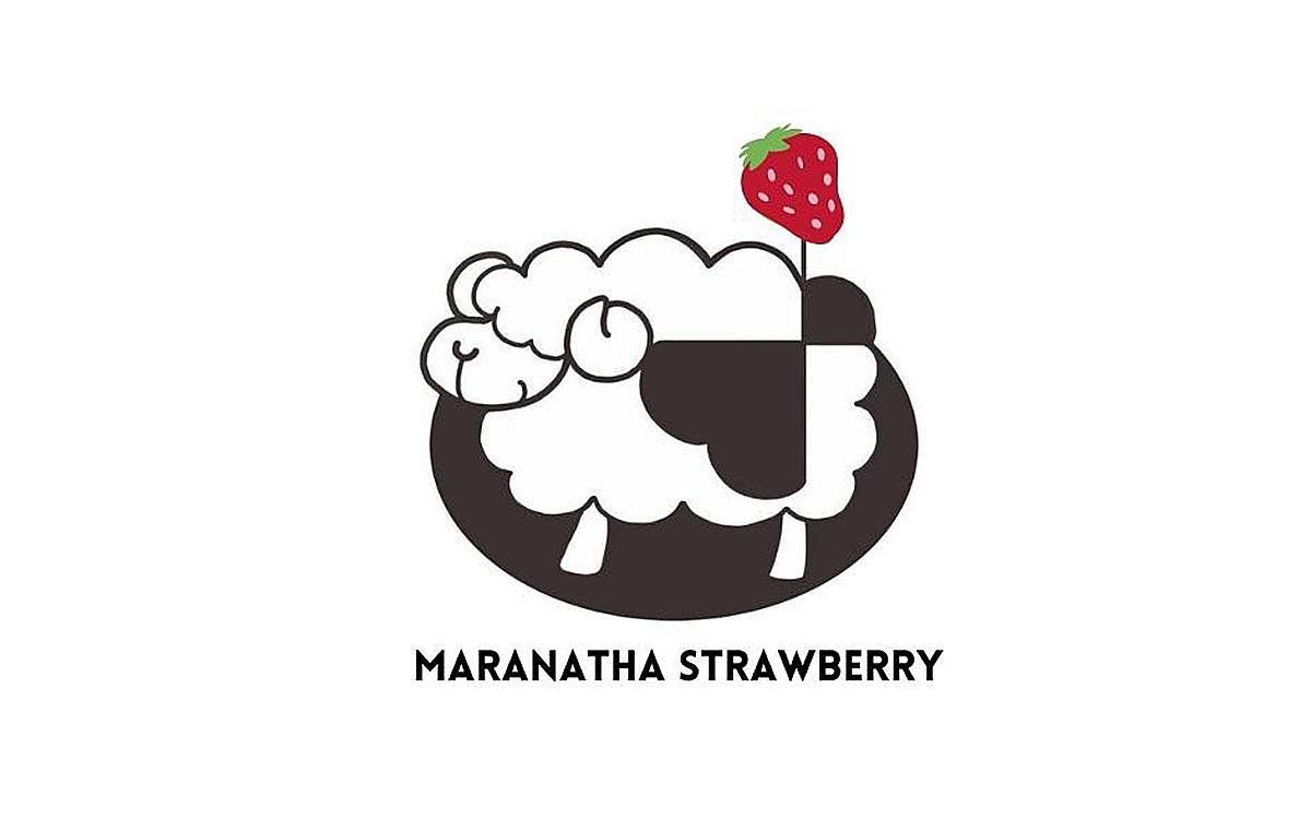 マラナタイチゴのロゴ